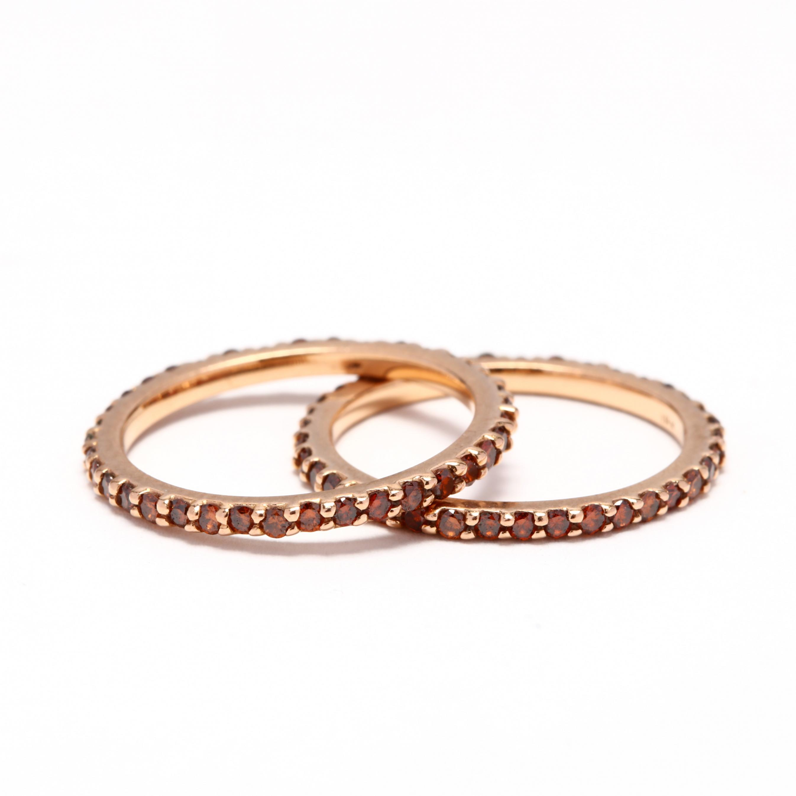 pair-of-18kt-rose-gold-and-fancy-color-diamond-bands