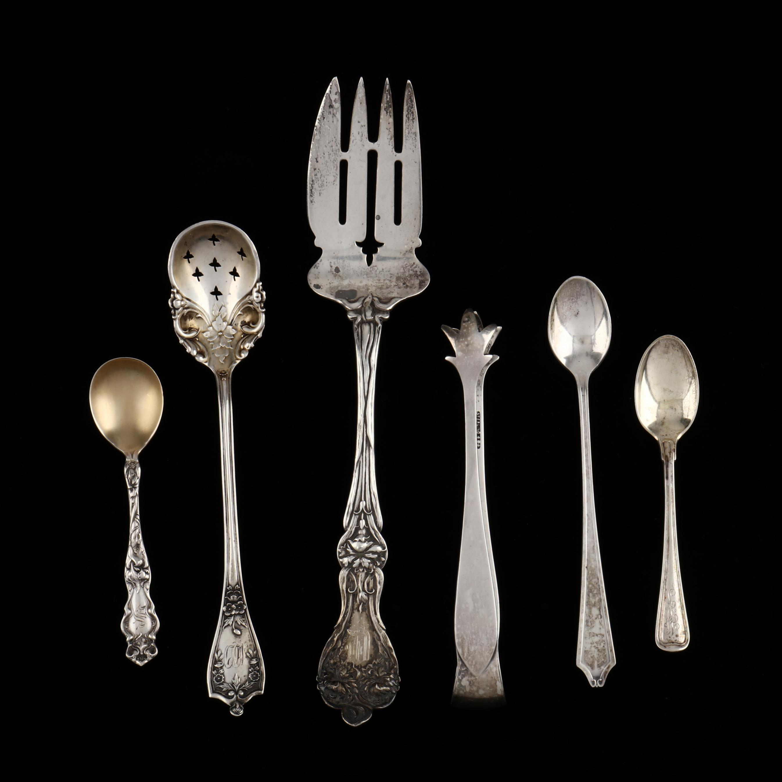 six-assorted-sterling-silver-flatware-pieces