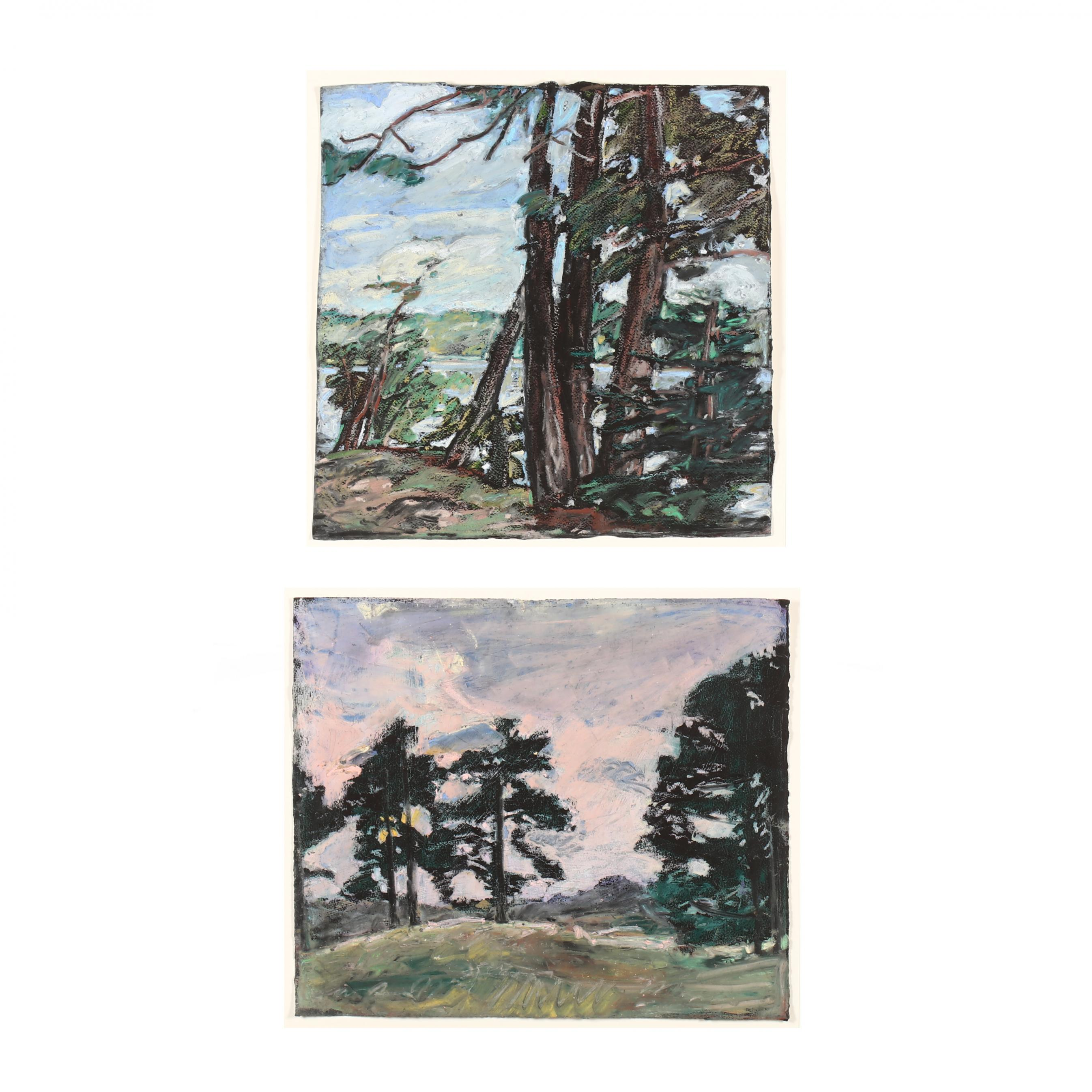 daisy-craddock-tn-ny-b-1949-two-original-landscape-paintings