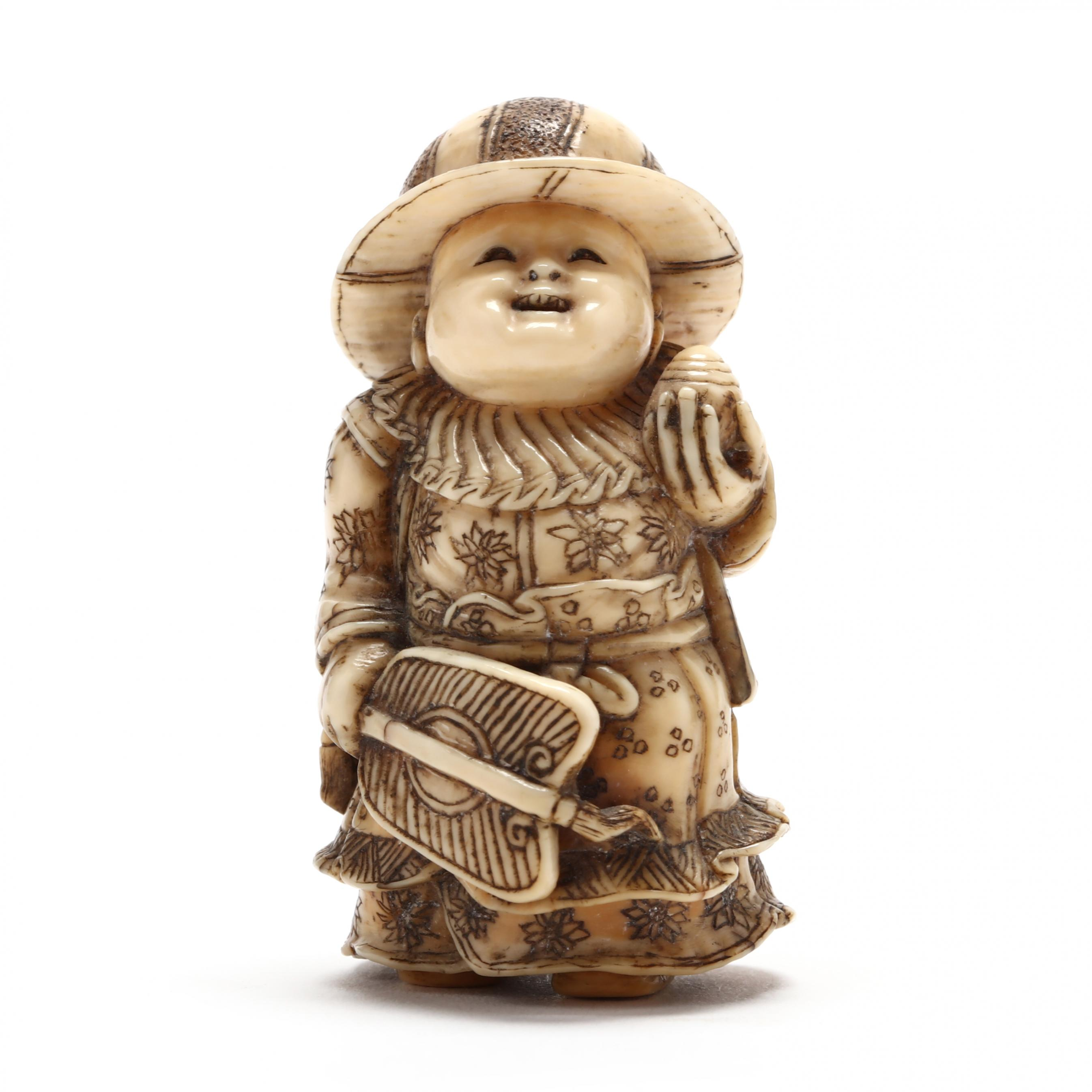 japanese-carved-ivory-netsuke-of-a-boy